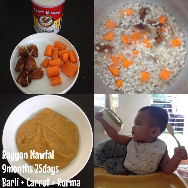 Bayi Tak Selera Makan Bubur Nasi? Jangan Risau Boleh Cuba 4